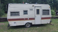 16ft taylor coach camping trailer
