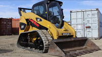 2011 caterpillar skid steer only 650hrs