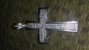 925 sliver Cross Pendant