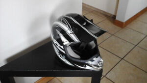 helmets and goggles and helmet bag