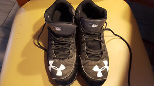 Spikes baseball shoes under armour
