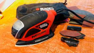 Black & Decker Mouse 1.2A Detail Sander