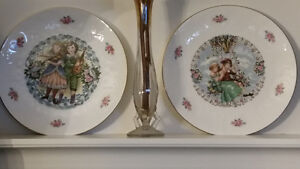 Royal Doulton Valentines Plates