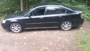 Subaru legacy 2007 manuelle