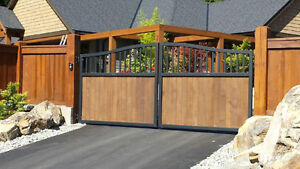 Custom Aluminum Driveway Gates & Automated Gate Opening Systems! Comox / Courtenay / Cumberland Comox Valley Area image 2