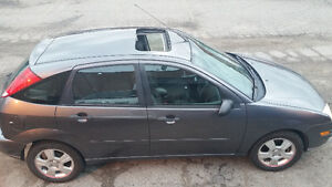 2006 Ford Focus ZX5 Hatchback MANUAL