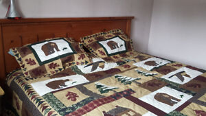 custom made king size bed