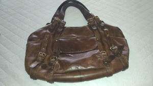 COOBA LEATHER BAG!!