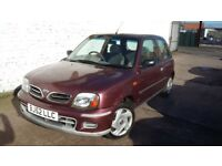 Nissan Micra 1.0 S (red) 2002