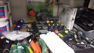 Outdoor Product Liquidation - timers, hoses, garden products