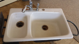 Hi end sink with newer tap