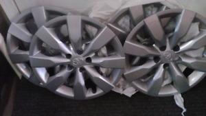4 enjoliveurs de roues 15 pouces original kia