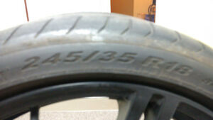 MSR Twin Spoke Wheels w/Pirelli Run Flats Cambridge Kitchener Area image 9