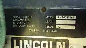 Lincoln Gas Portable Welder on Trailer Sarnia Sarnia Area image 2