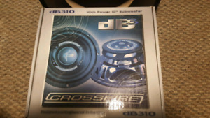 """10"""" SUBWOOFER / SUBWOOFER BOX / 240 WATT AMP PACKAGE DEAL!!!"""