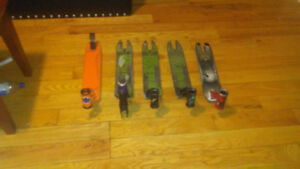 Used scooter decks