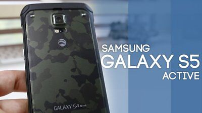 New In Box Samsung Galaxy S5 Active G870a   16Gb Unlocked Smartphone