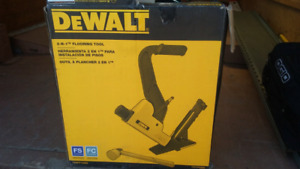 TWO IN ONE FLOORING NAILER $ 175 FIRM .