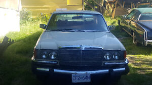 1980 Mercedes Benz 300SD/ turbo diesel rare US export car