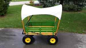 Large child wagon with shade cover London Ontario image 1