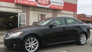 2013 Lexus IS 250 TOP OF THE LINE NAV, BACK UP CAMERA, PADDLE SH