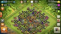 Clash of Clans TH10 Lvl 95 Android Account