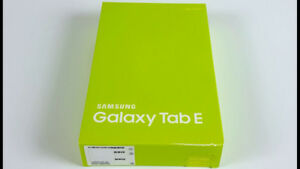 "SEALED 8"" Samsung LTE 16gb Tablet - SM-T377W"