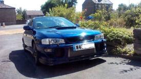 Subaru Impreza 2.0 Turbo 2000 Classic Shape Rare Vehicle 215 BHP HPi Clear