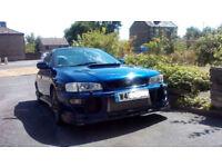 Subaru Impreza 2.0 Turbo 2000 Good Vehicle 215 BHP HPi Clear Mot'd Plus Upgrades