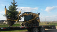 Tree moving.Tree spade.Spruce trees for sale.