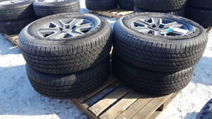 Tires and Rims at Bryan's Auction - Ends March 27th