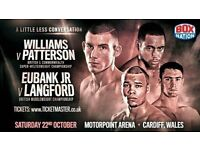 RINGSIDE SEATS FOR EUBANK JR VS LANGFORD