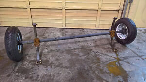 New Complete 2500LBS Trailer Axle ***Price Reduced***