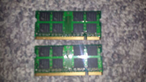 2x 1GB ProMos DDR2 Laptop Ram