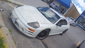 Selling 03 Mitsubishi eclipse gts with only 86k!!!  original eng