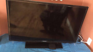 TV with table
