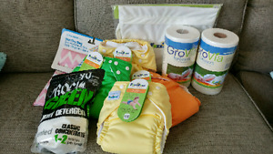 NEW Cloth diapers and supplies!