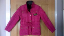 Girl's Barbour jacket.