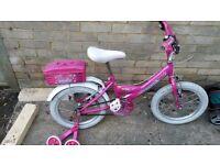 Girls pink bike for sale
