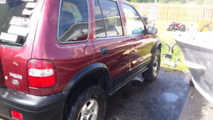 Lifted 2000 kia sportage for sale/trade