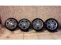 "Mercedes Benz A-Class A180 17"" Diamond Cut Alloys wheels"