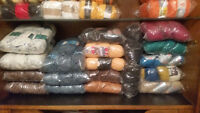 DESIGNER IMPORTED WOOLS AND COTTONS FOR KNITTING AND CROCHETING