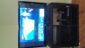 42 inch LG TV and stand