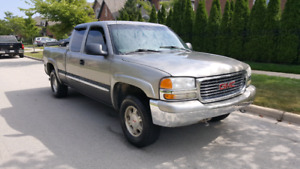 2002 GMC SIERRA 4X4 LEATHER 184000 km 5.3l