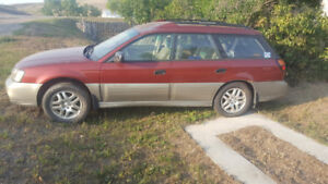 2002 Subaru Other Outback w/All Weather Pkg Wagon