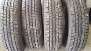 Set of like new tires plus couple extra