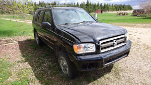 2002 PARTS ONLY Nissan Pathfinder SUV, Crossover