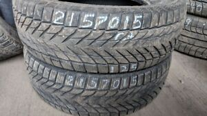 Pair of 2 Joyroad Winter RX808 215/70R15 WINTER tires (65% tread