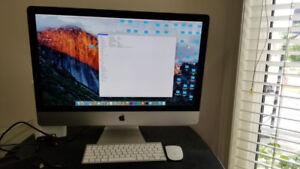 Apple iMac 27-inch 3.2 GHz Intel Core i5 /24 GB ram / Keyboard