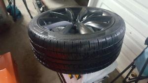 2017 Tesla Model X new tires & Rims